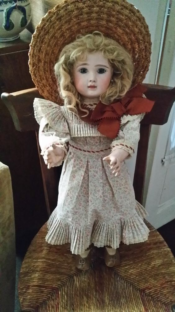 GoegeousAntique French STEINER Doll 23 inch