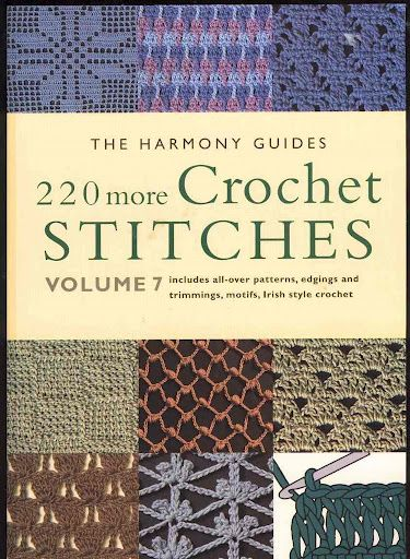 96 pages (!) of crochet basics, techniques, & written patterns with diagrams in this Picasa web album. Sections on all-over patterns, filet, motifs, Irish style, edgings, & Tunisian.