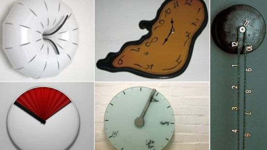 Image Detail For  Cool Unique Adorable And Stunning Wall Clock Design With  Vibrant Color .