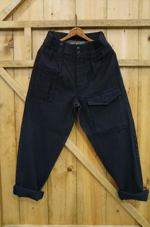 af672aa5afc2 Daring mix of wool and denim