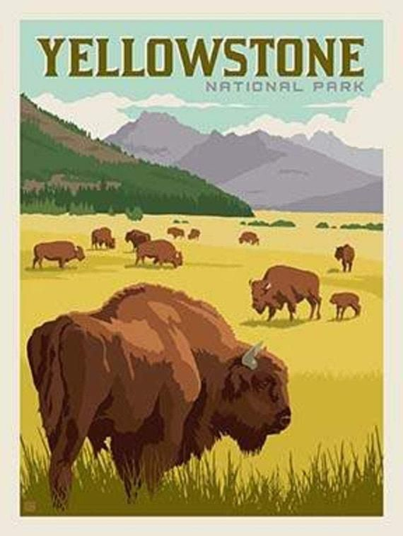 Yellowstone National Park Panel