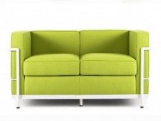 Sofa - CustomForm - LC cashmere 2os. limonka