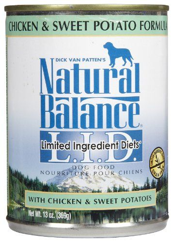Natural Balance Canned Dog Food, Grain Free Limited Ingredient Diet Chicken and Sweet Potato Recipe, 12 x 13 Ounce Pack - http://www.thepuppy.org/natural-balance-canned-dog-food-grain-free-limited-ingredient-diet-chicken-and-sweet-potato-recipe-12-x-13-ounce-pack/