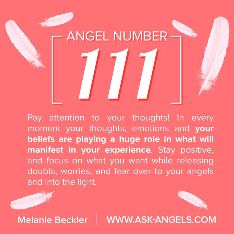 111 Meaning – The Importance of What 111 Angel Number Means