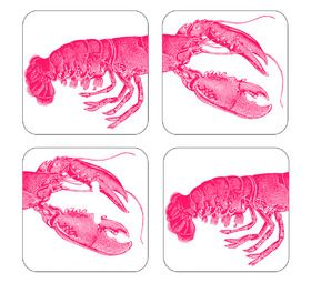 Lobster Coasters from Annabel James