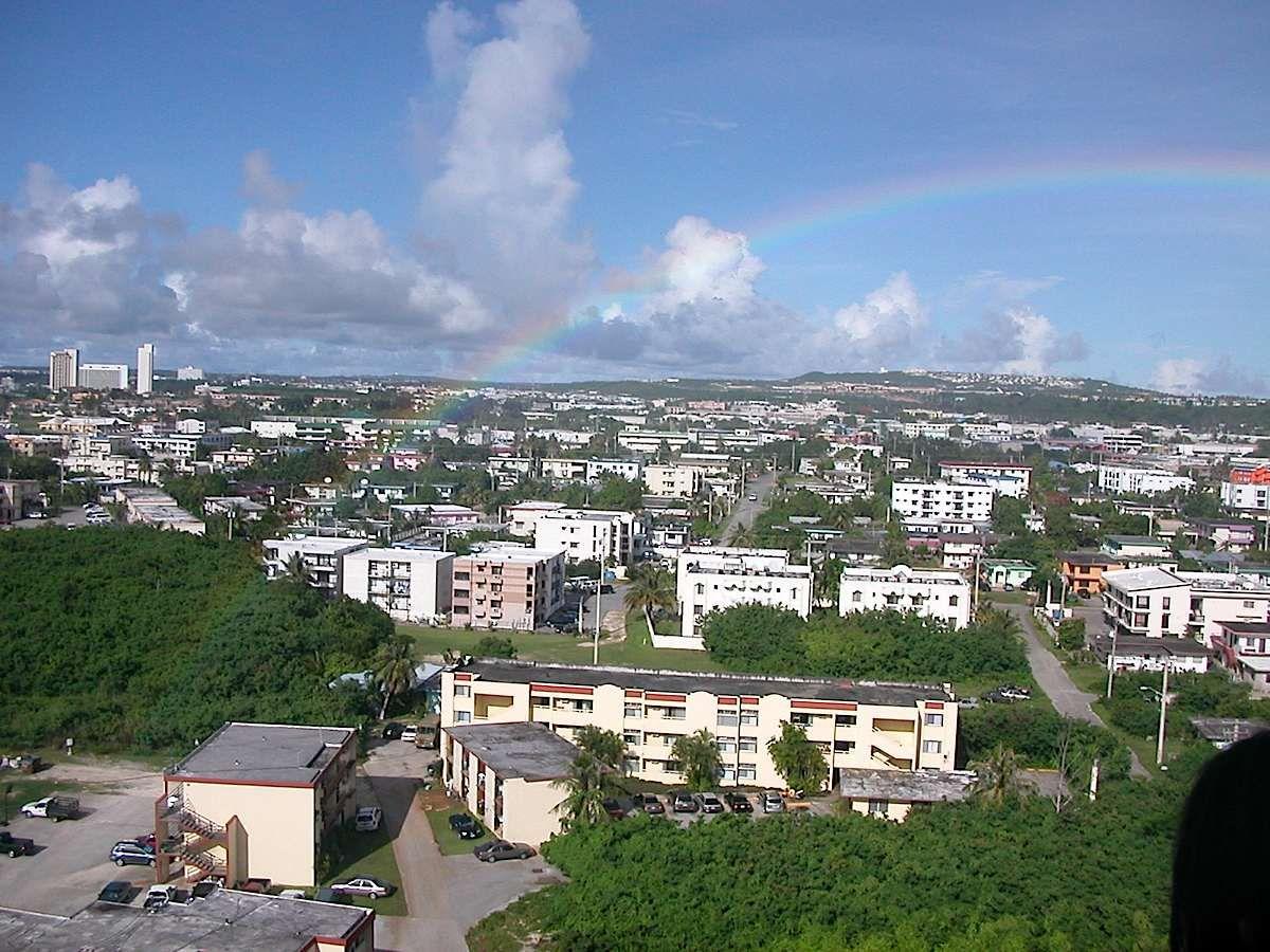 Guam Downtown Beautiful Islands Guam Saipan