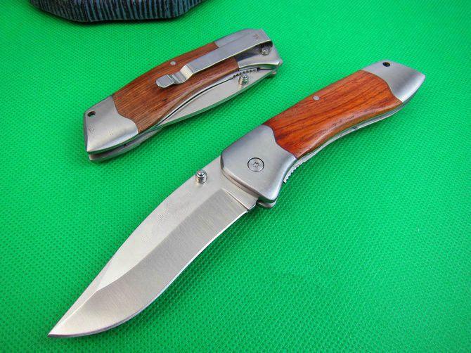 Tactical Folding Knife Pocket Saber Survival Rescue Fishing Camping Hunting K101