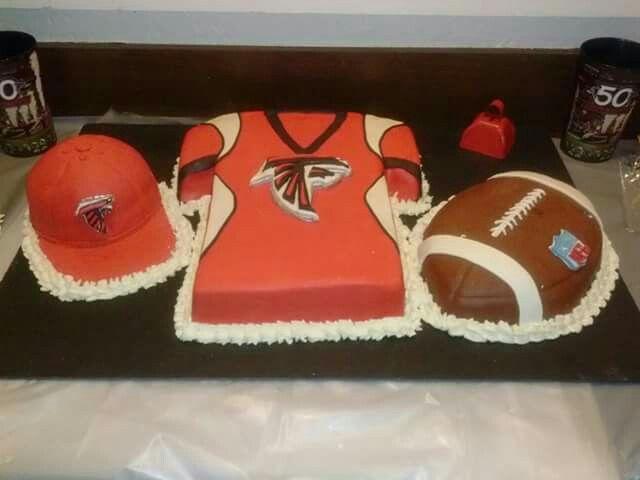 Football Theme Birthday Party Cakes Atlanta Falcons