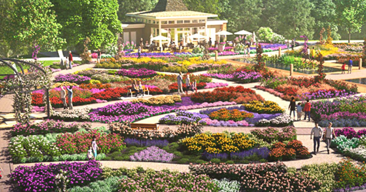 A Massive New Rose Garden Is Opening In Ontario This Summer 2018