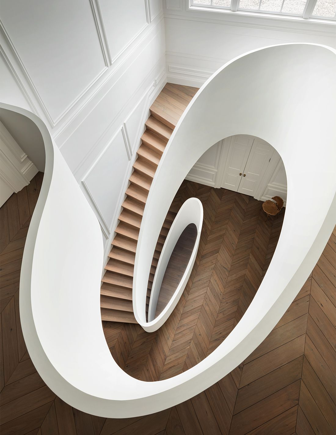 Best Sculptural Stairs By Steven Harris Architects Modern 400 x 300
