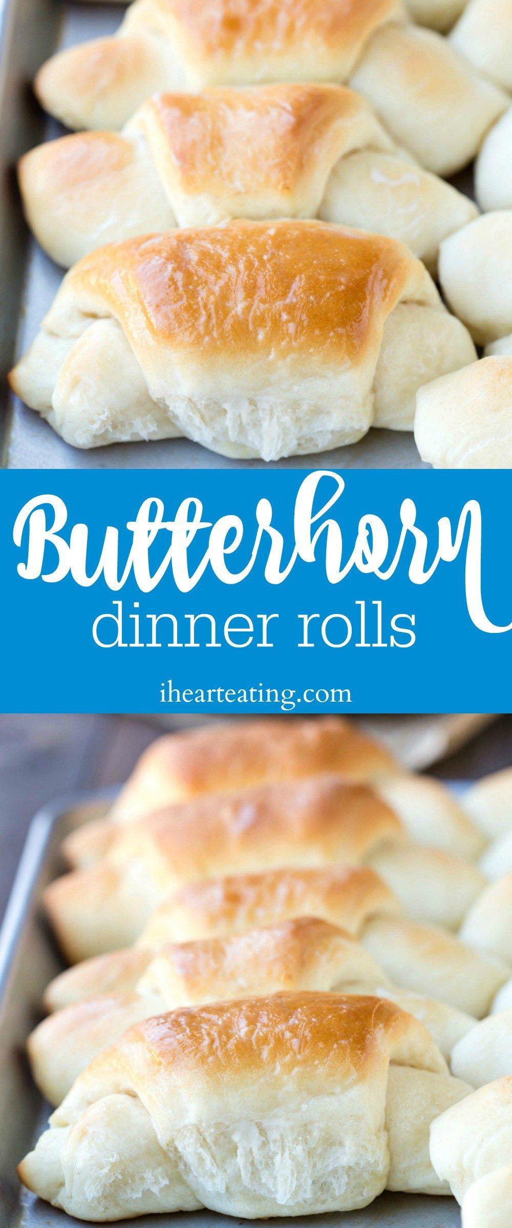 Butterhorn Dinner Roll Recipe I Heart Eating Pinterest