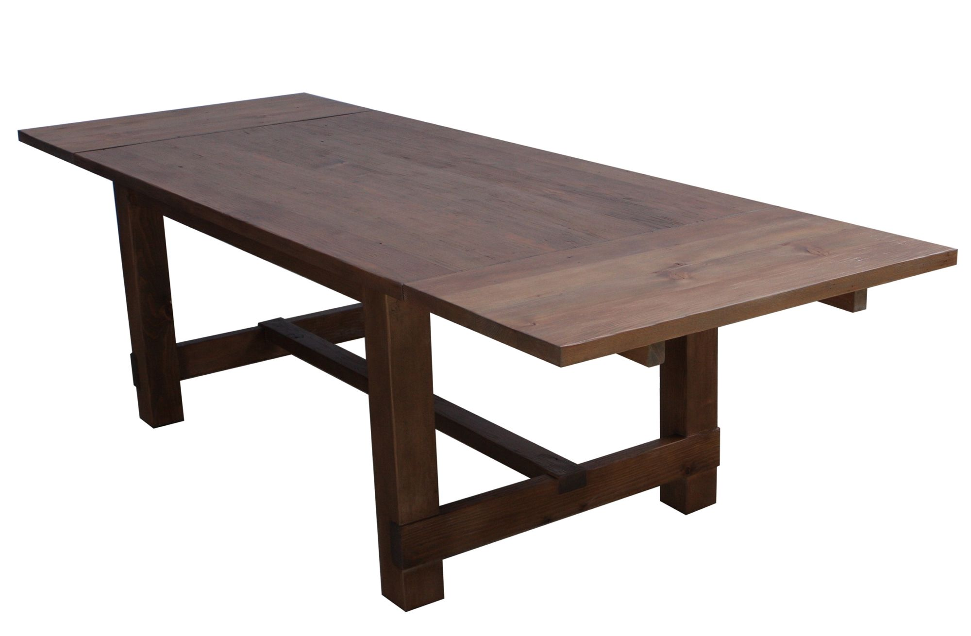 New England Farm Table This Table Is Shown With 2 Leaves 1 Thick Solid Wood  Top Built With Traditional Mortise U0026 Tenon Joinery