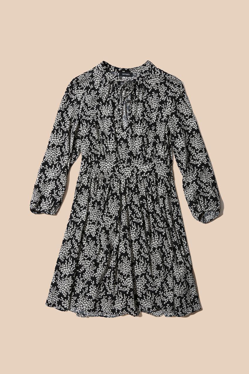 41a6da61d4bb MAX Co. AW - 16 Printed crêpe dress DAVOS 6224016003003