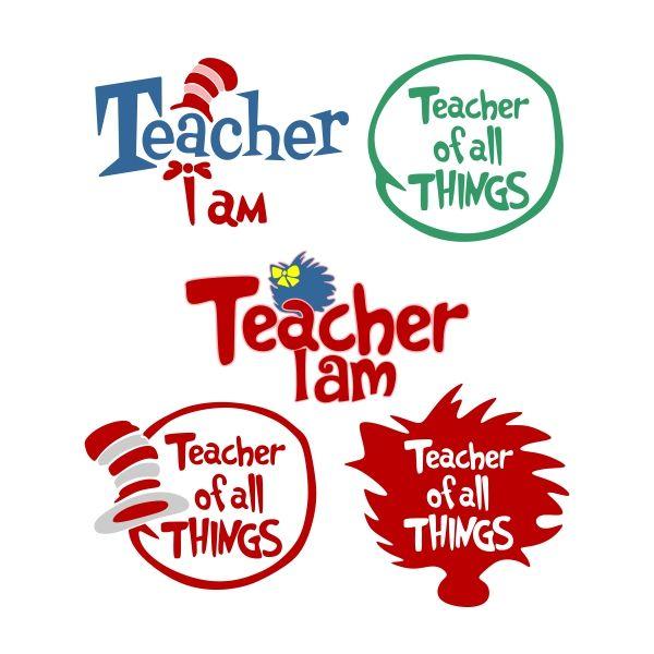 Teacher Cuttable Design Dr Seuss Shirts Teacher Cricut