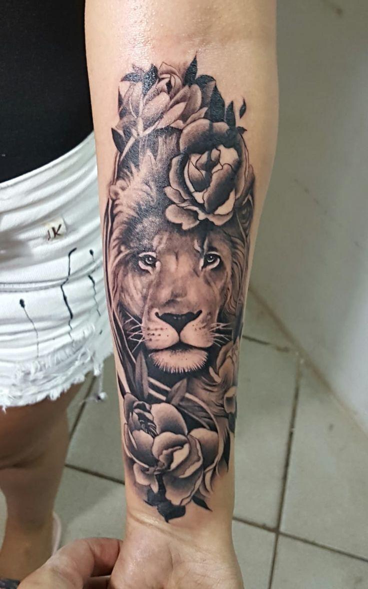 Photo of #tatto #feminin # löwe #realismus   – Tattoos – #Feminin #Löwe #