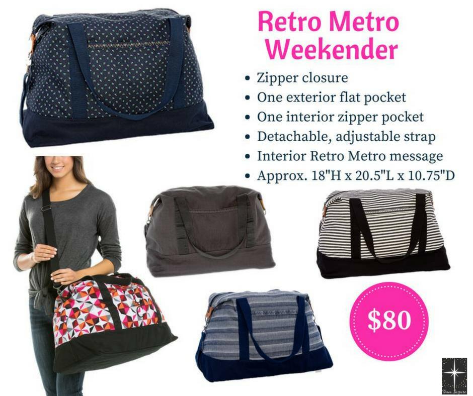 Retro Metro Weekender Patio Pop In 2019 Thirty One Gifts