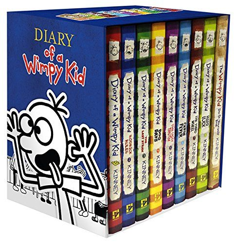 Diary of a wimpy kid box of books 1 8 the do it yourself book diary of a wimpy kid box of books 1 8 the do it yourself book jeff kinney solutioingenieria Gallery