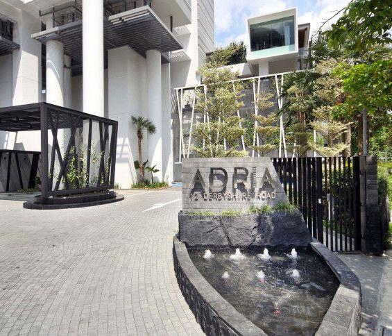 City Gate Apartments: Entrance Signage, Entrance Design, Building Signs