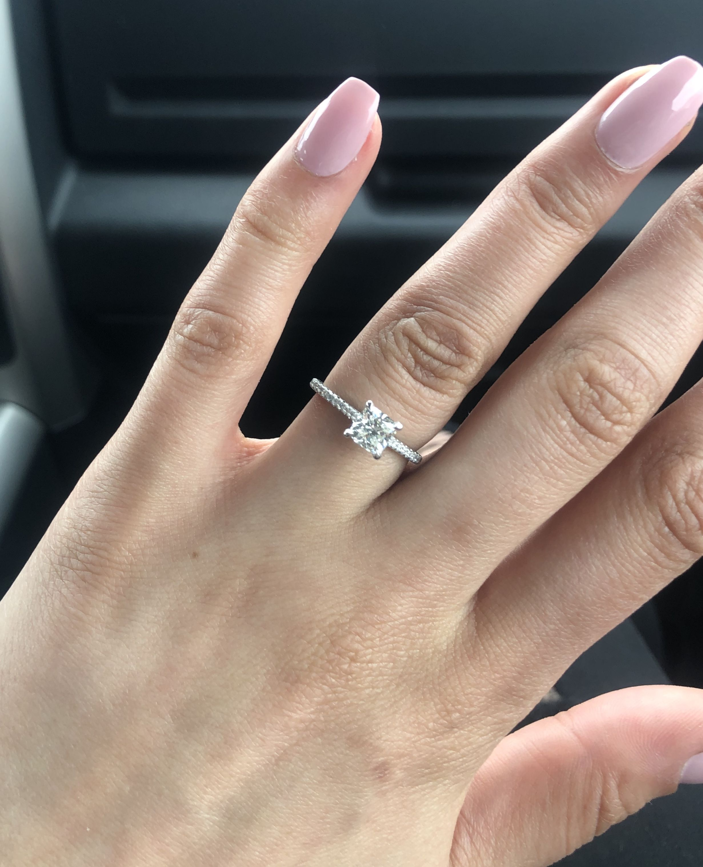 Size 4 Rings 2mm Vs 1 5mm Pictures Please Size 4 Rings Rings Diamond Bands
