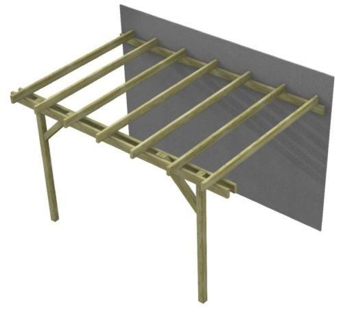 Giardino Cosa Piantare A Febbraio: Pergola-in-legno-Gazebo-DoubleEasy-economica-struttura