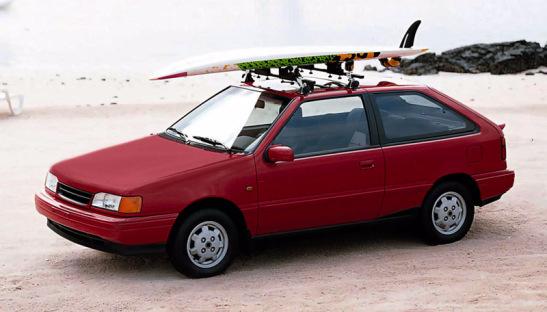 Time For Throwbackthursday With A 1989 Hyundai Excel Tbt Hyundai Suv Car Suv