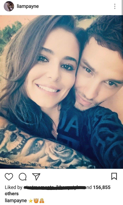 Liam on instagram. August 24th. Cheryl and liam, Liam