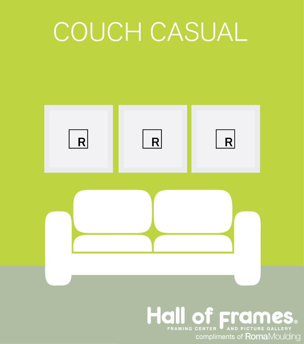 As casual as it is to sit on a couch...checkout this casual wall ...