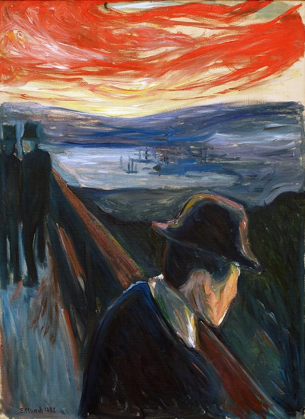 'O Grito' e outras obras: No século 19, Edvard Munch já expressava as ansiedades do mundo moderno em suas pinturas - Follow the Colours
