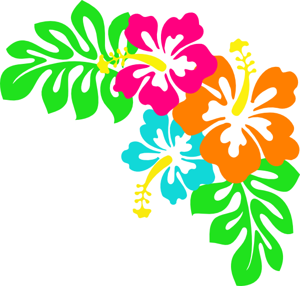 Pin By Jacqueline Cunningham On Diy And Crafts Hibiscus Clip Art Hawaiian Quilts Clip Art Borders