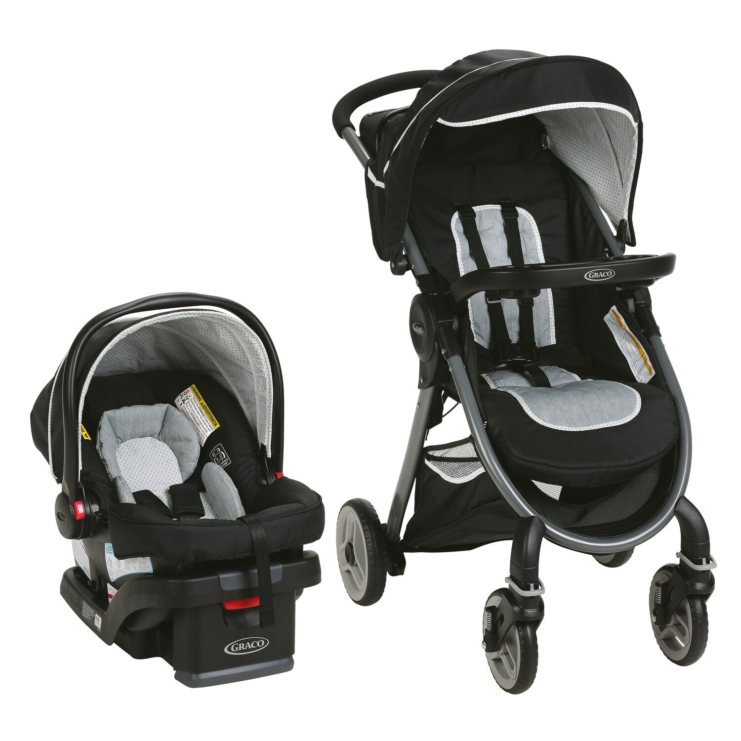 Graco FastAction Fold 2.0 Travel System Fold, FastAction