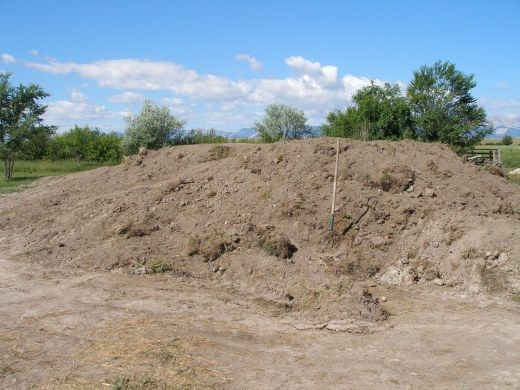 This mound of dirt would pale in comparison to the amount of earth moved by the boys in this novel.