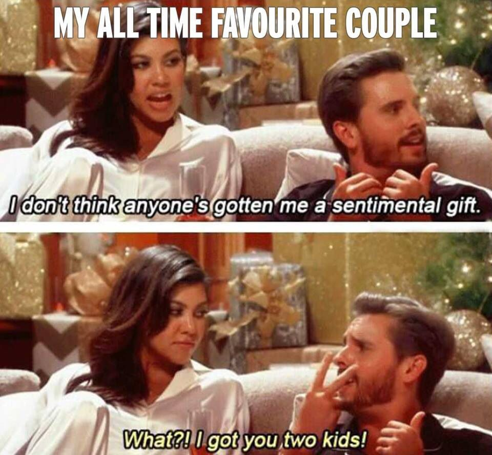 Not my fav couple but they are so hilarious to make fun of! I mean for people who have everything what can you really get them they will like? #todaysmarragelife