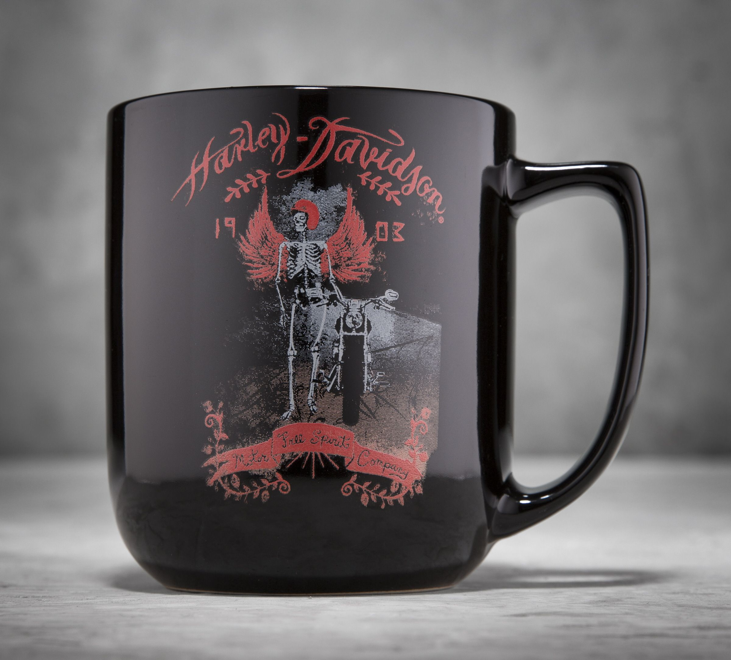 Take a sip from this 17 ounce coffee mug and you'll feel