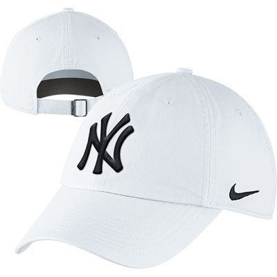 New York Yankees Women s MLB Nike White Stadium Hat  24c6797bfc6