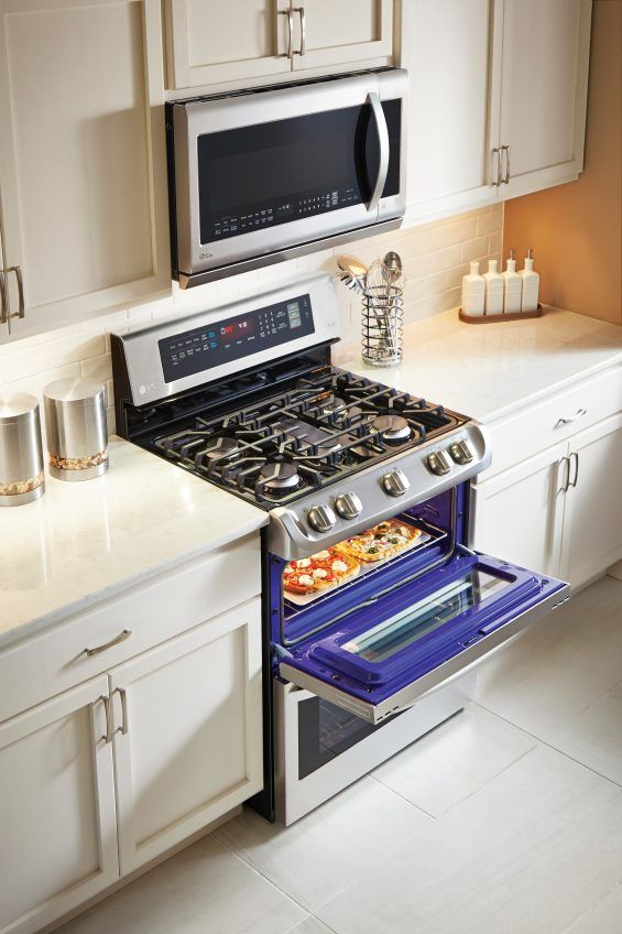 Meet The Oven Of Your Dreams Lg Probake Double Oven At Best Buy