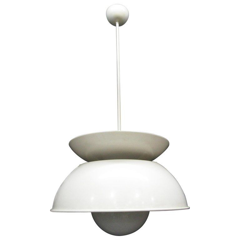 Best Mid Century Metal White Chandelier Created By Vico 640 x 480