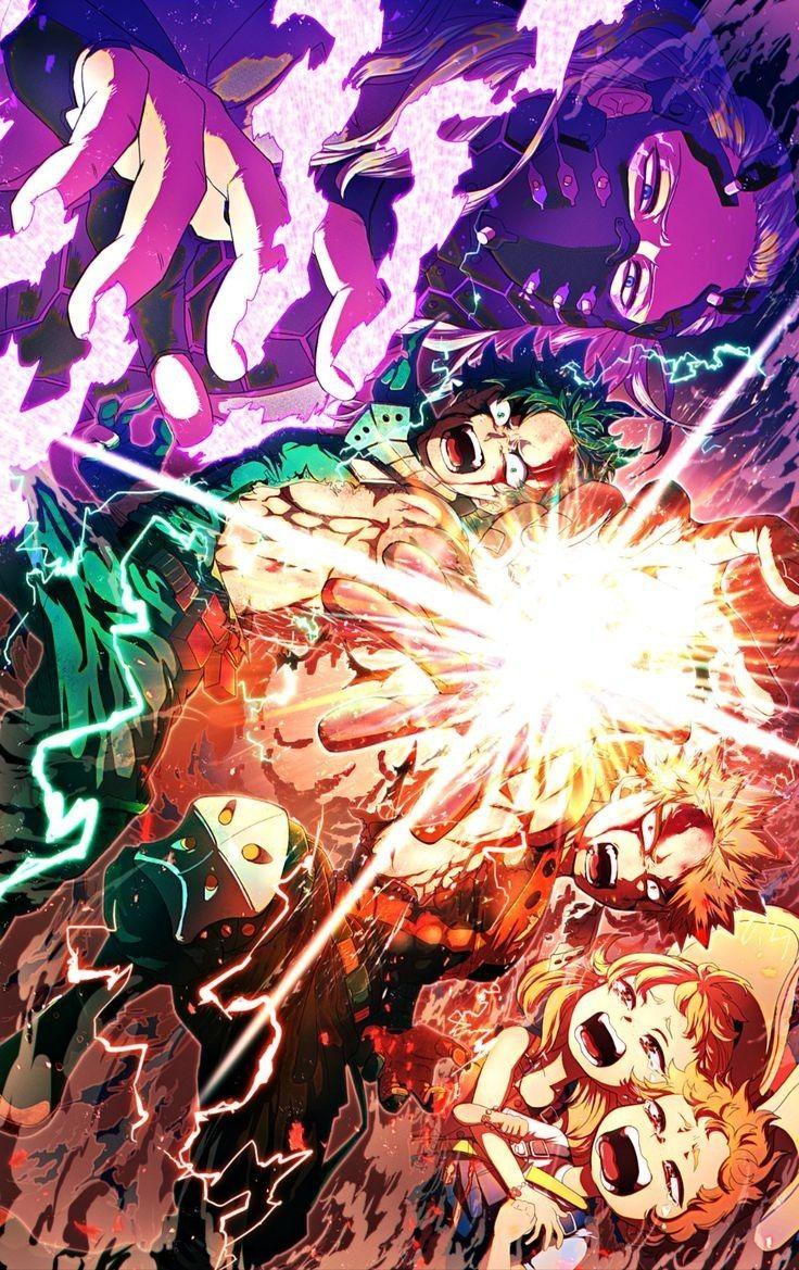 Save Follow Midoriya Izuku Deku Bakugou Katsuki Nine Heroes Rising My Hero Academia Boku No Hero Academi Hero Wallpaper My Hero Anime Wallpaper