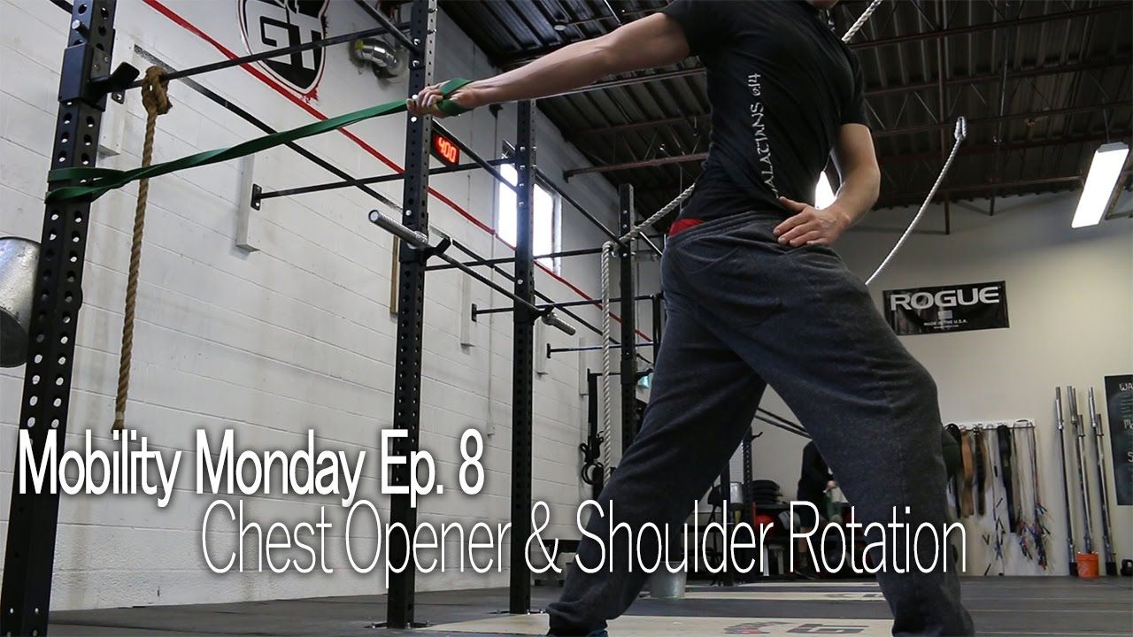 Fixing your Shoulders For Overhead Movements (Douche Bag