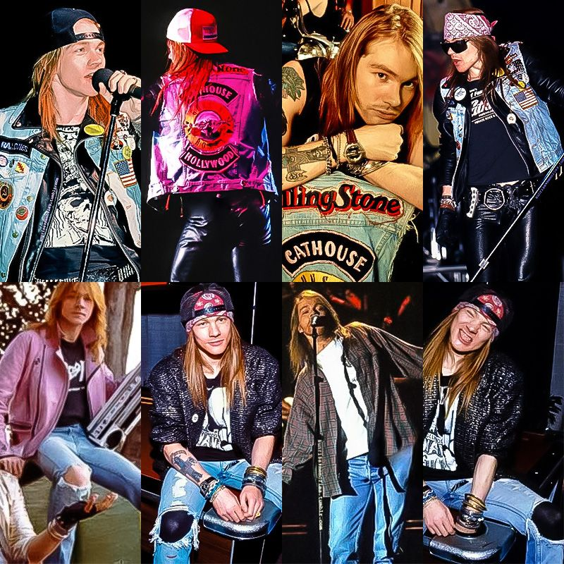 Axl Rose denim
