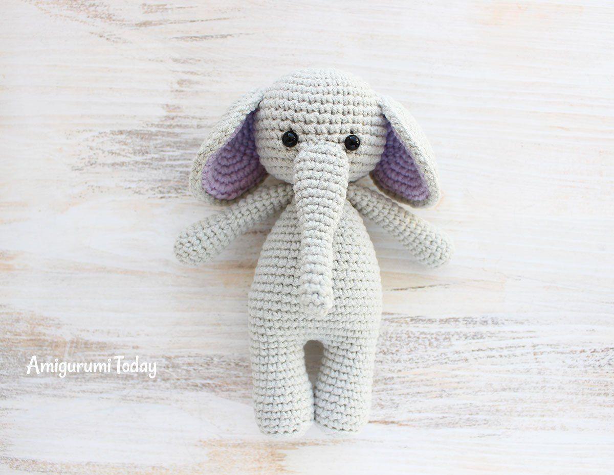 Cuddle Me Elephant crochet pattern | Boleros, Patrones y Fieltro
