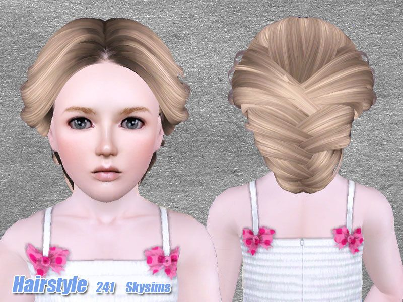 Skysims 241 Child The Sims 3 Hairstyles