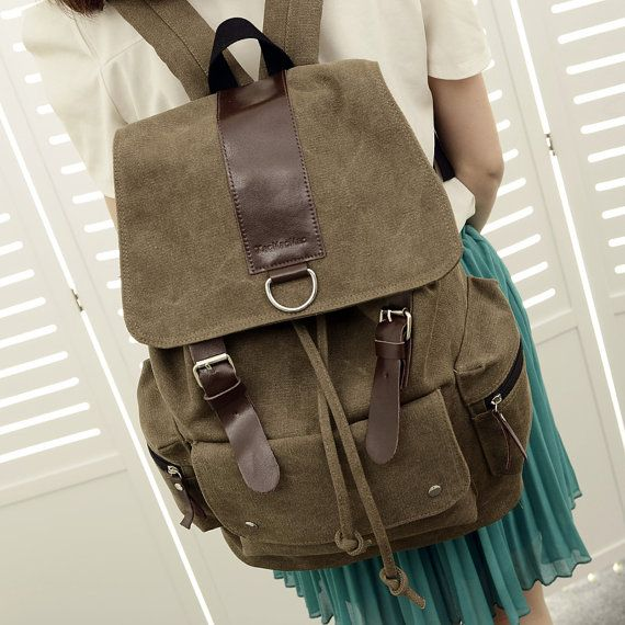 Four colored canvas bag canvas shoulder bags by Yanrongbags, $33.00