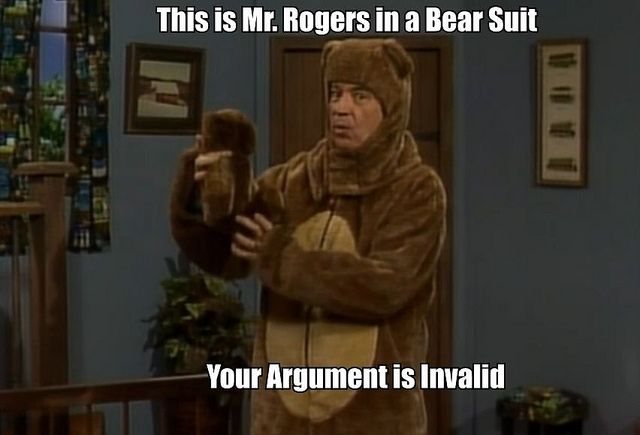 Mr  Rogers in a Bear Suit | Bears | Fred rogers, Quotes for kids, People