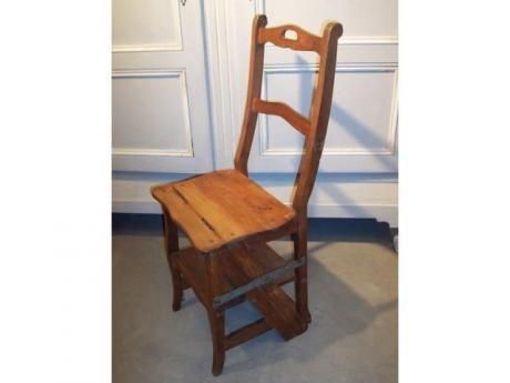 chaise escabeau de biblioth que decoration pinterest. Black Bedroom Furniture Sets. Home Design Ideas