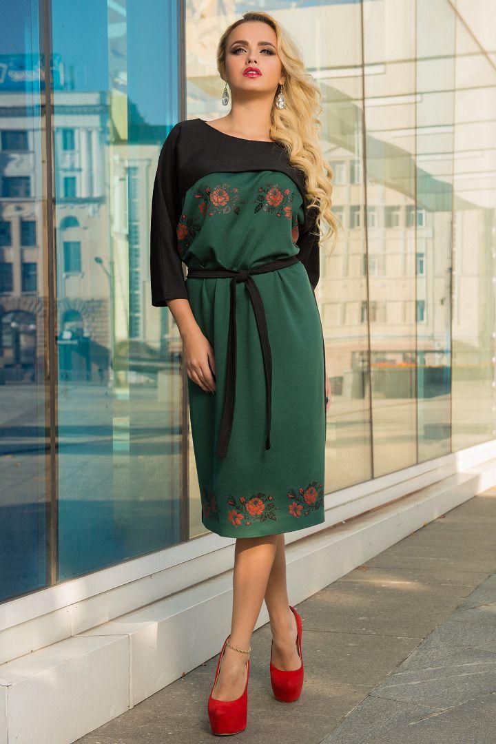 0891c82219a Модный тренд 2017 — платья с рукавом реглан  стильные образы ...