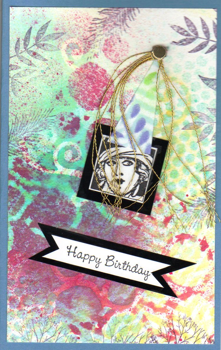 Happy Birthday card for Colleen Jr, 2014