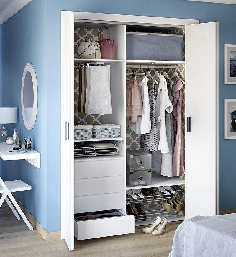 Aprovechar el espacio armario empotrado lm living - Decoracion armarios empotrados ...