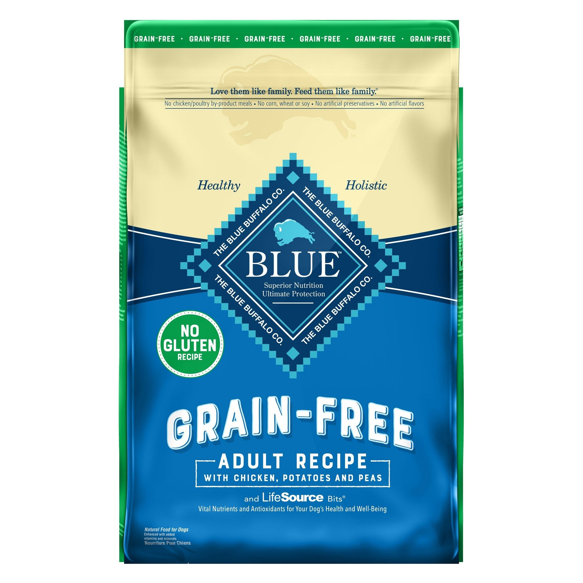 Blue Buffalo Life Protection Formula Grain Free Chicken Formula