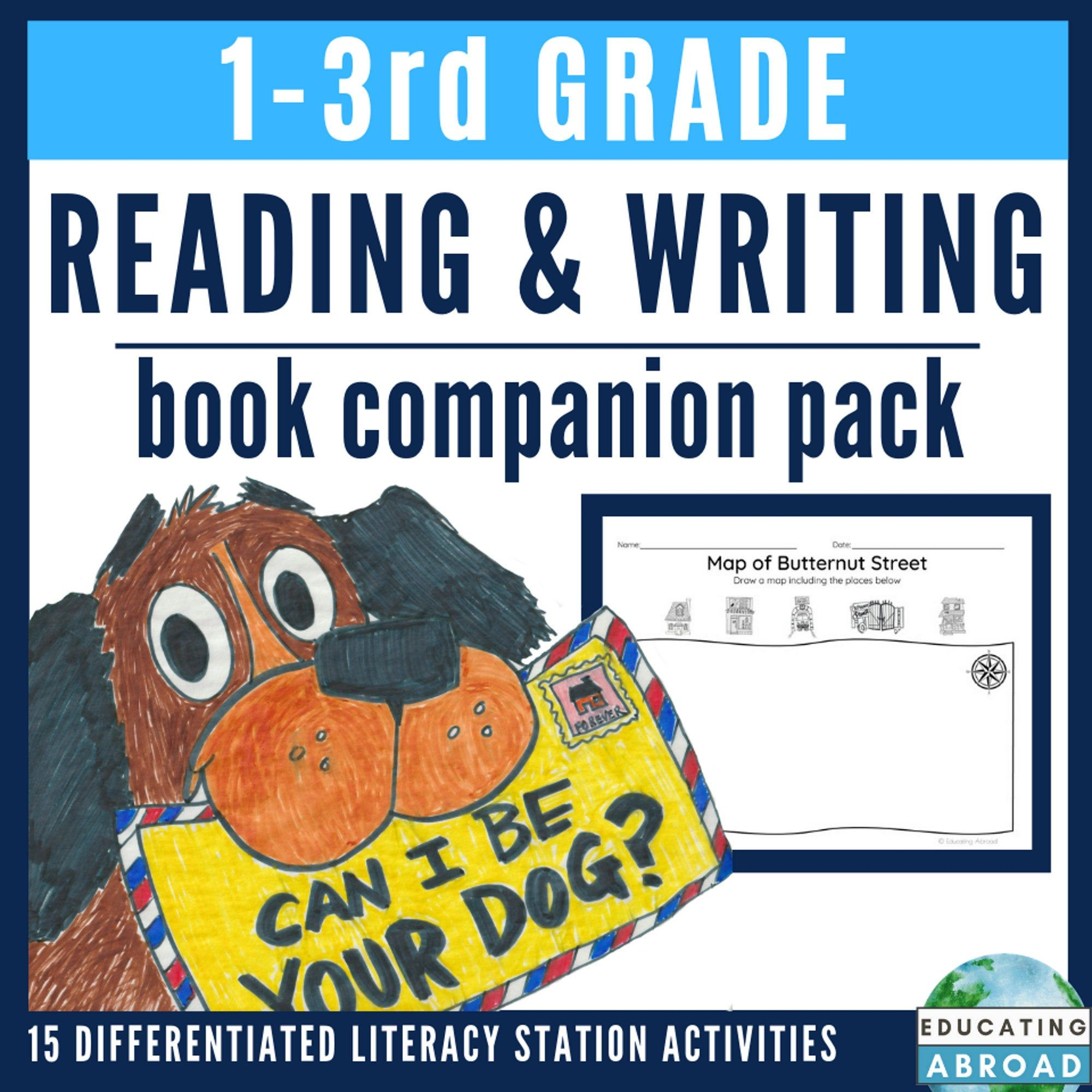 Distance Learning Reading And Writing Can I Be Your Dog