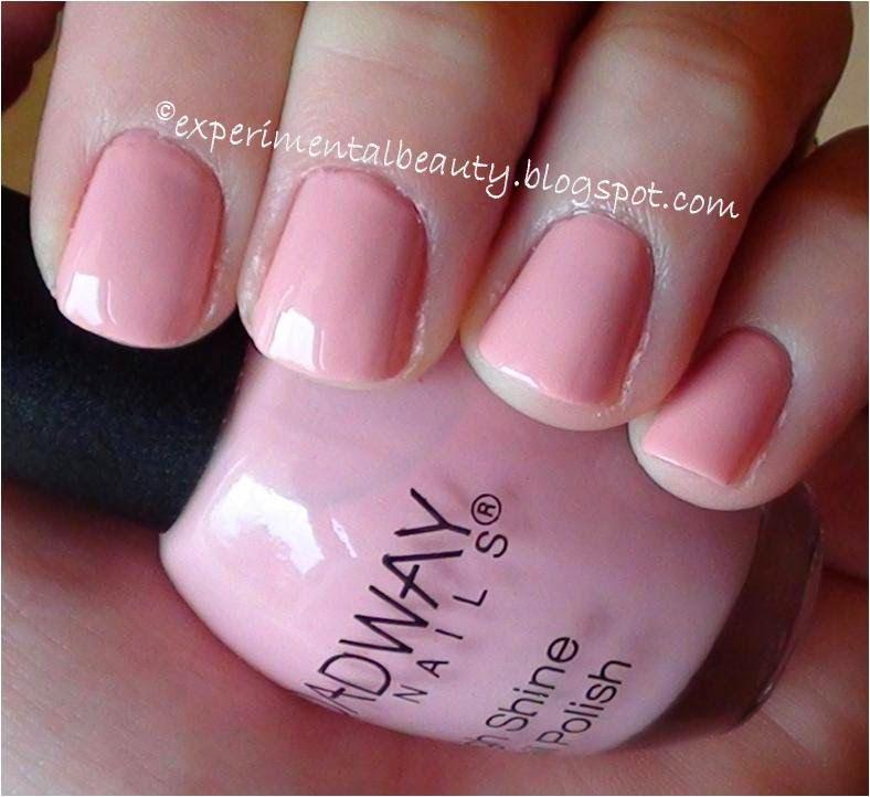 broadway nails- ballet flat nail